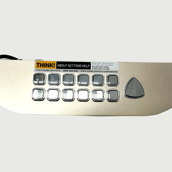 ARISTOCRAT HELIX BUTTON PANEL 01